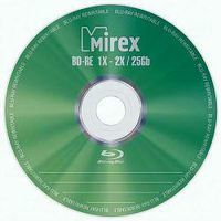 Диск BD-RE 25Gb 2x Mirex Jewel case