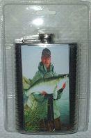 """Фляжка металлическая """"Рыба"""" (260 мл, арт. TF-9C2-12)"""