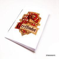 """Блокнот белый """"Гарри Поттер. Гриффиндор"""" А7 (870)"""