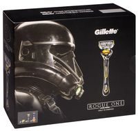 """Подарочный набор """"Gillette Fusion ProShield"""" (станок, 3 сменные кассеты, гель для бритья)"""