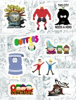 "Набор виниловых наклеек №175 ""South Park"""