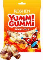 """Конфеты жевательные """"Yummi Gummi. Funny Cola"""" (100 г)"""