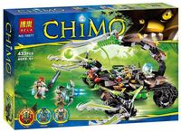 "Конструктор ""Chima. Жалящая машина скорпиона Скорма"" (433 детали)"