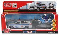 """Игровой набор """"KIA Sorento Prime. Полиция"""" (арт. SB-18-04WB)"""