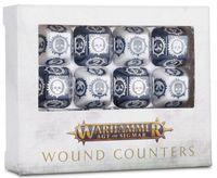 """Набор кубиков """"Wound Counters"""" (12 шт.)"""