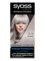 """Крем-краска для волос """"Syoss"""" тон: 10-15, титановый"""