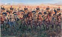 """Набор миниатюр """"Британская легкая кавалерия"""" (масштаб: 1/72)"""