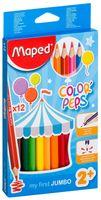 """Цветные карандаши """"Color Peps"""" Maxi (12 штук)"""