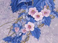"""Картина по номерам """"Цветущая ветвь"""" (400х500 мм)"""