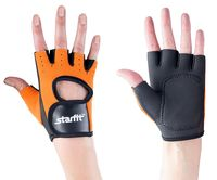 Перчатки для фитнеса SU-107 (XL; оранжевые/чёрные)