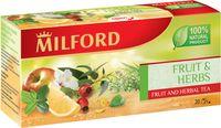 """Фиточай """"Milford. Фрукты и травы"""" (20 пакетиков)"""