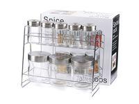 Набор банок для сыпучих продуктов и специй (8 шт.)
