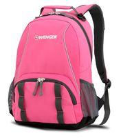 Рюкзак WENGER (22 литра, розовый/серебристый)