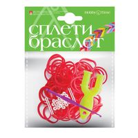 """Набор для плетения из резиночек """"Красный"""" (300 шт.)"""