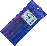 Набор крючков для вязания (пластик; 3.0-7.0 мм; 5 шт.)