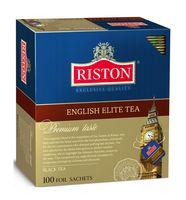 """Чай черный """"Riston. English Elite"""" (100 пакетиков)"""