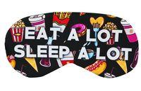 """Маска для сна """"Eat a lot"""""""