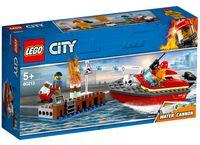 """LEGO City """"Пожар в порту"""""""