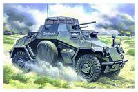 Германский легкий бронеавтомобиль Sd.Kfs.222 (масштаб: 1/48)