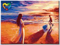 """Картина по номерам """"На закате"""" (300x400 мм; арт. HB3040130)"""