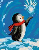 """Картина по номерам """"Пингвин"""" (165х130 мм)"""