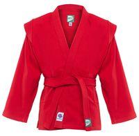 Куртка для самбо JS-303 (р.2/150; красная)