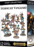 Warhammer Age of Sigmar. Stormcast Eternals. Stormcast Vanguard. Start Collecting (70-87)