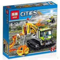 """Конструктор Cities """"Вездеход исследователей вулканов"""""""