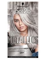 "Краска для волос ""Metallics"" тон: M71, серебристый металлик"