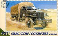 Грузовик GMC CCW/CCKW 353 (масштаб: 1/72)