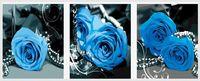 """Картина по номерам """"Голубые розы"""" (500x1500 мм; арт. MT3073)"""