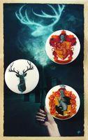 """Набор значков маленьких """"Гарри Поттер"""" (арт. 338)"""
