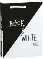"""Блокнот с черными и белоснежными страницами """"Black&White Note"""" (А5)"""