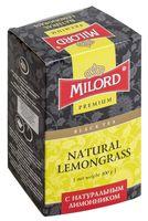 """Чай черный листовой """"Milord. С натуральным лимонником"""" (100 г)"""
