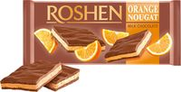 """Шоколад молочный """"Roshen. Апельсиновая нуга"""" (90 г)"""