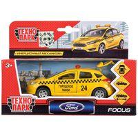 """Модель машины """"Ford Focus. Такси"""" (арт. SB-17-81-FF-T-WB)"""