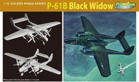 "Истребитель ""P-61B Black Widow"" (масштаб: 1/72)"