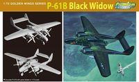 "Истребитель ""P-61B Black Widow"" (масштаб: 1/72)"