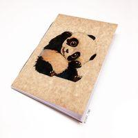 """Блокнот крафт """"Панда"""" А5 (арт. 509)"""