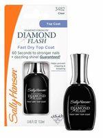 """Верхнее покрытие для ногтей """"Diamond flash fast dry top coat"""" (13 мл)"""