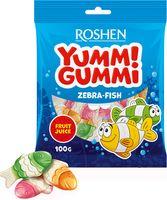 """Конфеты жевательные """"Yummi Gummi. Zebra-Fish"""" (100 г)"""
