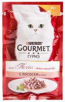 """Пресервы для кошек """"Mon Petit"""" (50 г; лосось в соусе)"""