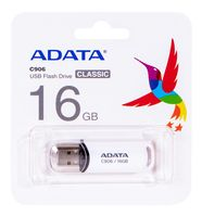 USB Flash Drive 16Gb A-Data Classic C906 (White)