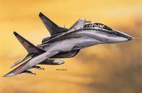 """Истребитель """"MIG 29UB Falcrum"""" (масштаб: 1/72)"""