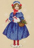 "Вышивка крестом ""Кукла Мари"" (арт. 1312)"