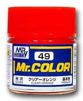 Краска Mr. Color (clear orange, C49)