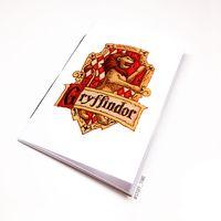 """Блокнот белый """"Гарри Поттер. Гриффиндор"""" А5 (870)"""