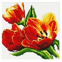 """Алмазная вышивка-мозаика """"Тюльпаны"""""""