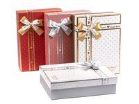 Коробка подарочная картонная (260х190х80 мм)