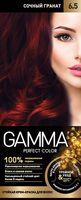 """Крем-краска для волос """"Gamma perfect color"""" (тон: 6.5, сочный гранат)"""